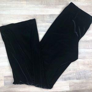Cabi Black Velvet Pants